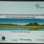 II Kongres Polskiej Organizacji Rozwoju Technologii Pomp Ciepła