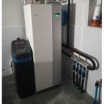 Gruntowa pompa ciepła NIBE + zmiękczacz