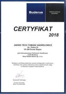 Autoryzowany Partner BUDERUS 2018