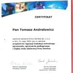 Certyfikat Danfoss 2004