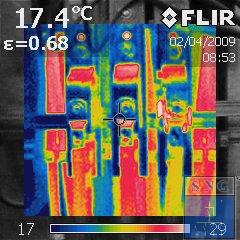 Pomiary kamerą termowizyjną