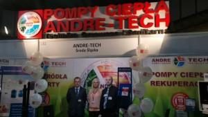 ANDRE-TECH na targach TARBUD 2014